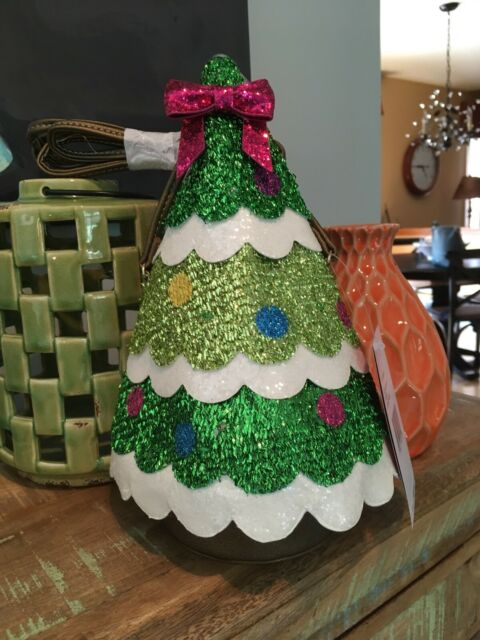 "Betsey Johnson /""I/'m Tree Falling//Light me up/"" Christmas Tree Crossbody Purse NWT"