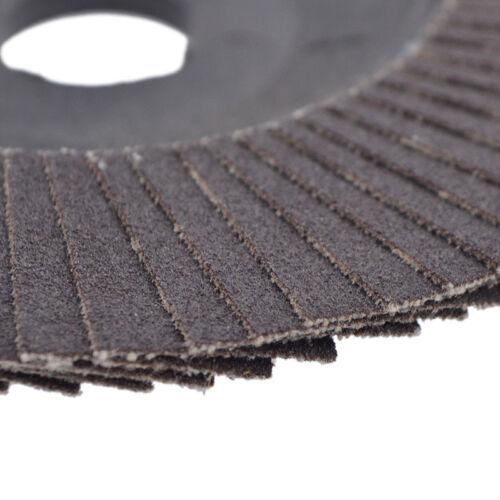 100mm 4/'/' Flap Disc Sanding Grinding Wheel for Angle Grinder #60,#80,#120,#320