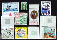 SAINT PIERRE et MIQUELON  lot de timbres NEUF ** vendu sous la faciale L0308