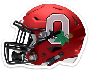O-S-U-Ohio-State-University-Buckeyes-Football-Helmet-Drk-Scarlet-w-logo-MAGNET