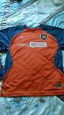 Manchester City football shirt size 32-34 Rebook