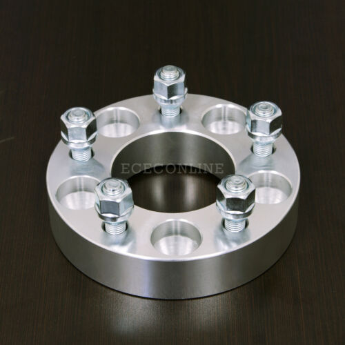 """2pc 1.25/"""" Wheel Spacers Adapter5x4.75 to 5x55x120.7 to 5x12712x1.5"""