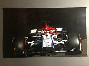 2020-Kimi-Raikkonen-Alfa-Romeo-Racing-F1-Print-Picture-Poster-RARE-Awesome