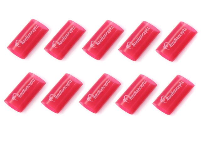 """KnuKonceptz Red 0 Gauge 3:1 Heat Shrink Tubing w/ Adhesive Glue - 10 Pack - 1"""""""