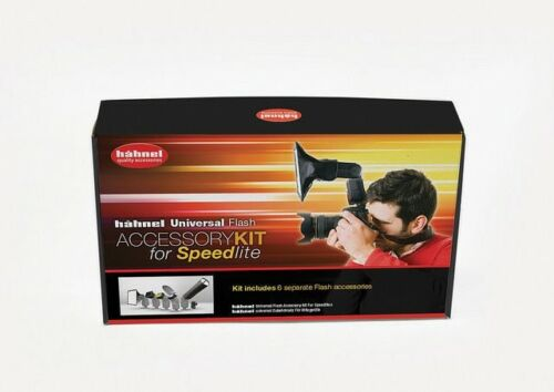 Nikon Hahnel Universal Speedlite Accessory Kit for Canon snoot softbox bounce