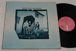 TRAFFIC-LP-PROG-1-PRESS-ITALY-ISLAND-PINK-1970-EX