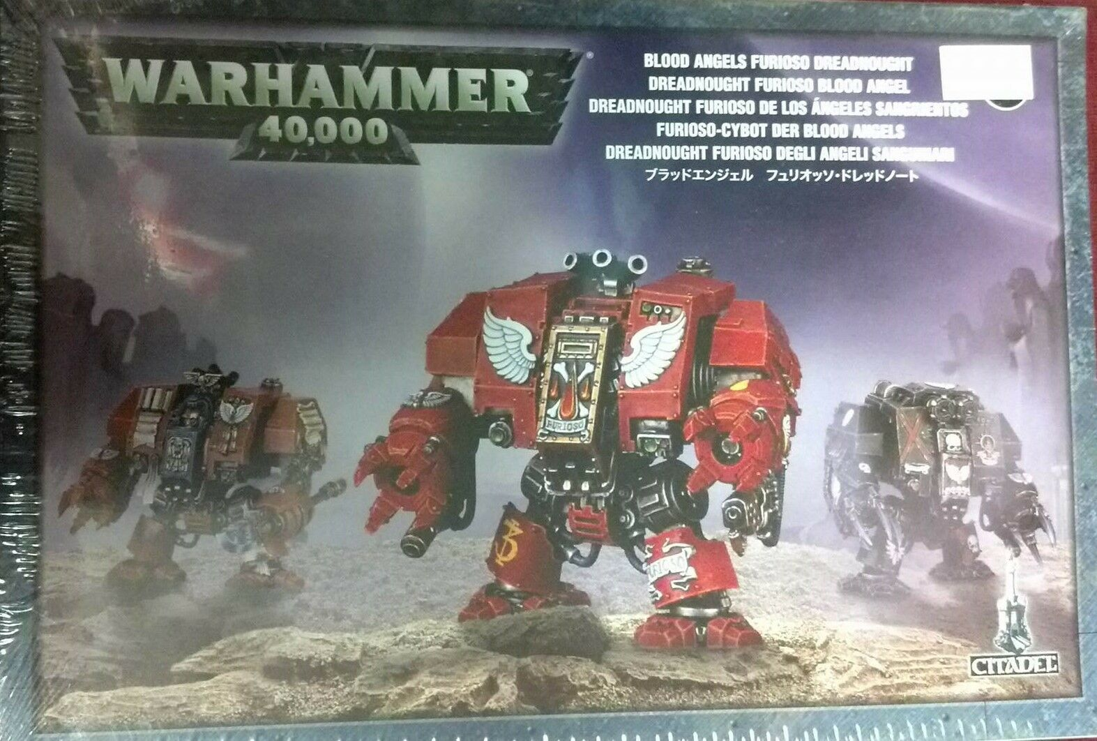 Warhammer 40K Space Marine BLOOD ANGELS FURIOSO DREADNOUGHT New New New Sealed a28f3d