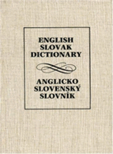 English-Slovak Dictionary by Dr. Simko, Jan: New