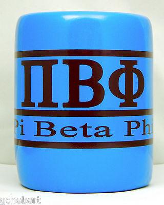 Pi Beta Phi, ΠΒΦ, Greek Letter and Name Kool Kan Koozie NEW