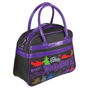 Wacky-Races-Overnight-Bag-Classic-Retro-Cartoon-Large-Luggage-Holiday-Gift