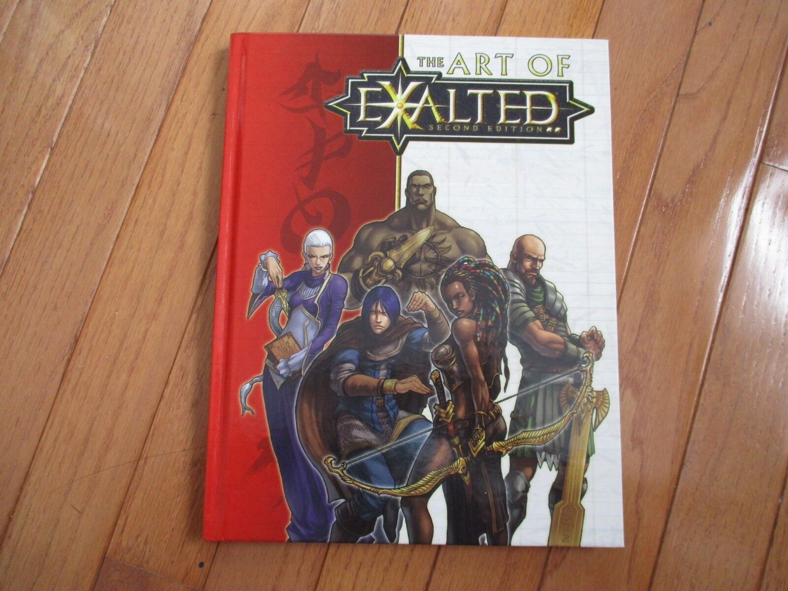 Exalted 2nd Ed The Art of Exalted