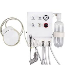 Dental Portable Turbine Unit With Weak Suction Wall Mounted Type 4 Way Straw 4h