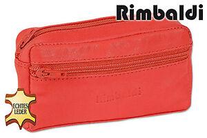 Rimbaldi-Grosse-Leder-Schluesseltasche-mit-Extrafach-in-Rot