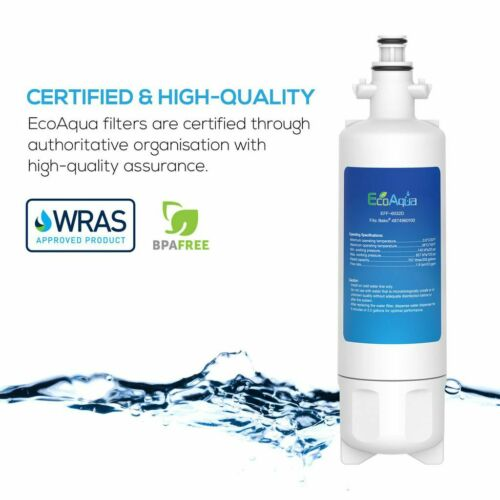 2 Fridge Water Filter Compatible for Blomberg Grundig Lamona LAM6100 Filter