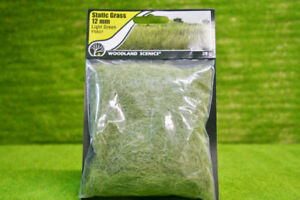 Details about Field System 12mm Static Grass Light Green Woodland Scenics  WFS627