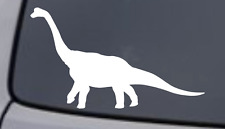 BRONTOSAURUS Vinyl Decal Sticker Car Window Wall Bumper Dinosaur Long Neck Funny