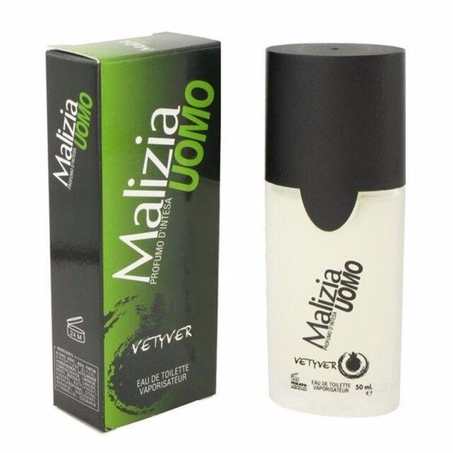 Vetyver Malizia Uomo Cologne for Men 50ml EDT Spray