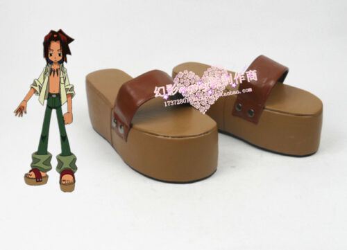 Shaman King Yoh Asakura Cosplay Boots Shoes