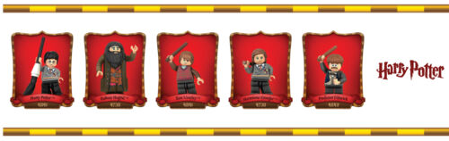 Lego Harry Potter Selbstklebend Dekorative Wand Bordüre 5 Meter Insgesamt