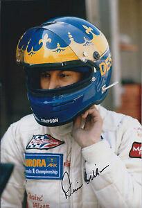 Desire-WILSON-SIGNED-Portrait-FORMULA-1-Driver-12x8-Photo-AFTAL-COA-Autograph