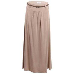 Emerson-Belted-Maxi-Skirt-Sand-Ladies-UK-Size-14-BRAND-NEW-BOX84-00-Q