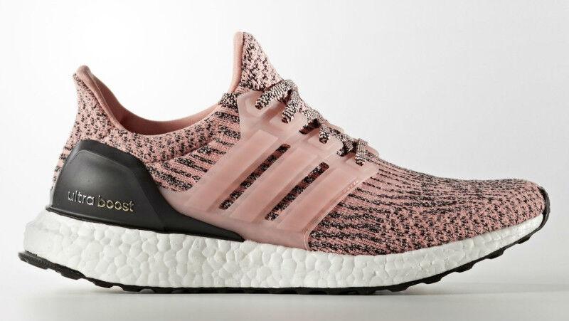 bcd6f01eb84 Adidas Ultra Boost W 3.0 Pink Still Still Still Breeze salmon sz 8.5.  S80686.