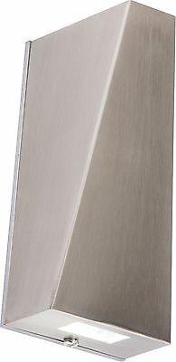 Knightsbridge ip44 230v 6w TUBOLARE LED Luce su e giù interno o esterno
