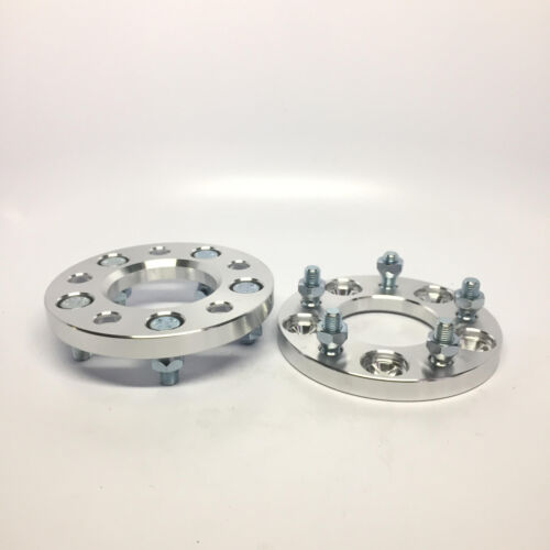 2pc Custom CNC Wheel Spacers Adapters 5x114.3 20MM FITS EVO FUSION MAZDA 3