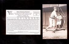 1987 Conlon EDWIN AMERICUS ROMMEL Philadelphia Athletics Sporting News Card