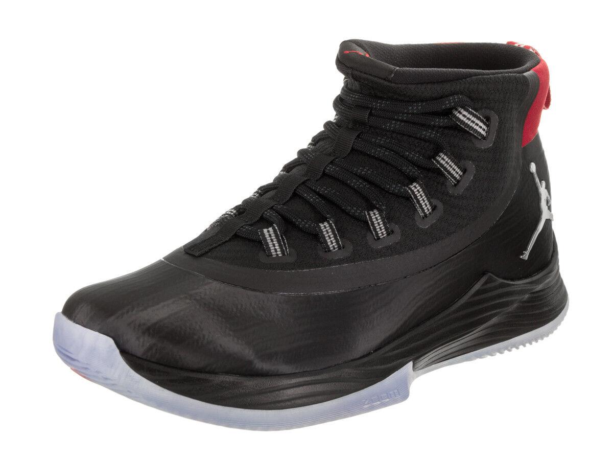 NEW Nike Jordan Uomo Ultra Fly 2 Basketball Shoe Nero 897998-003 Size 12