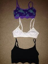 3 New Joe Boxer/Bongo Size Small 6/6x Training Bras
