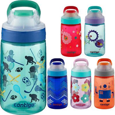 Jungle Green sport No-Spill Contigo Autoseal Gizmo SIP KIDS bouteille d/'eau 14 oz environ 396.89 g