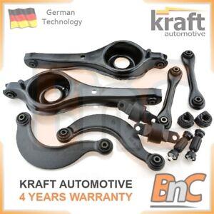 KRAFT-HEAVY-DUTY-REAR-CONTROL-ARMS-SET-WISHBONES-BUSHINGS-FORD-FOCUS-MK-I-MK1