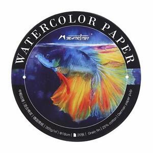 Artist-Watercolor-Pad-300g-Medium-Grain-20-Sheets-Painting-Art-Paper-NEW