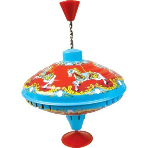 Karussell Brummen Top 04598 Traditionelle Bunt Metalldose Kinder-Spaß Spin