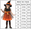 Toddler-Kids-Baby-Girls-Witch-Costume-Clothes-Party-Dress-Hat-Fancy-Outfit-USA thumbnail 3