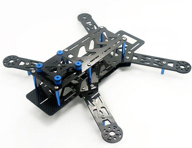 250 mm pro reines kohlefaser - mini - fpv quadcopter multicopter rahmen kit qav250