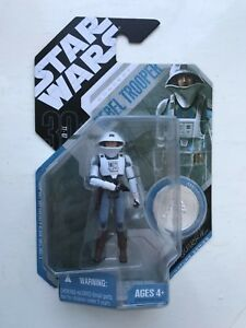 McQUARRIE REBEL TROOPER with STAND STAR WARS 30th ANNIVERSARY