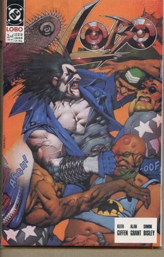 Lobo 1990 series # 2 near mint comic book