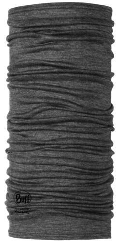 Merino Wolle Buff Buff Grau Leicht Merino Wolle Multifunktionale Kopfbedeckung