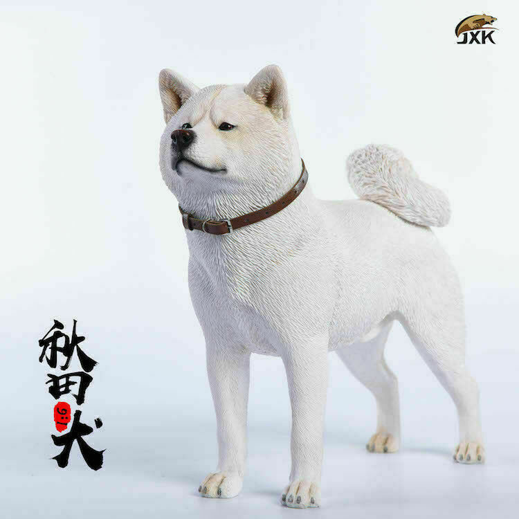 JxK Jxk007B 1 6  Japanese Akita Dog modellololo Animal cifra giocattolo Pet modellololo F Colletion  goditi il ​​50% di sconto