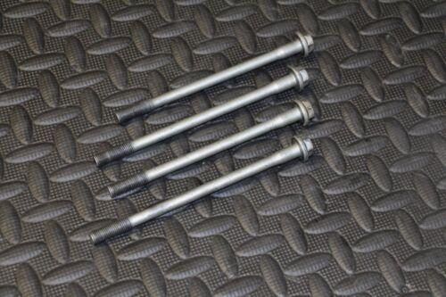 4 x OEM Yamaha YFZ450 cylinder head bolts YFZ 450 2004 2005 2006 2007 2008 2009