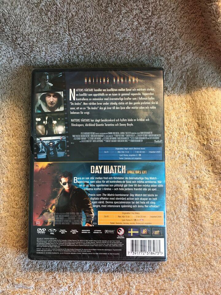 Nattens Vaktare , Day watch , DVD