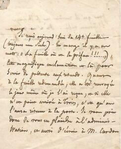 Abbe-de-LAMENNAIS-Lettre-autographe-signee-a-l-039-editeur-Pagnerre
