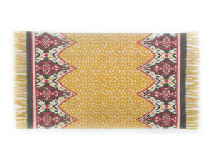 Mackenzie-Childs-BOHEME-Cotton-Ikat-Fringe-RUG-2-039-3-034-X-3-039-9-034-NEW-76-m19-2