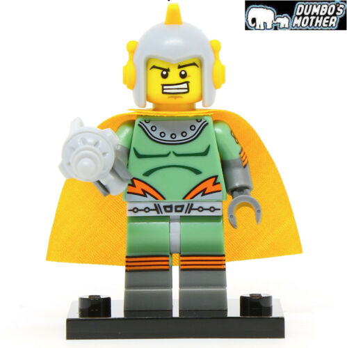 Lego Retro Spaceman Series 17 Collectible Minifigure w//Stand 71018 NEW