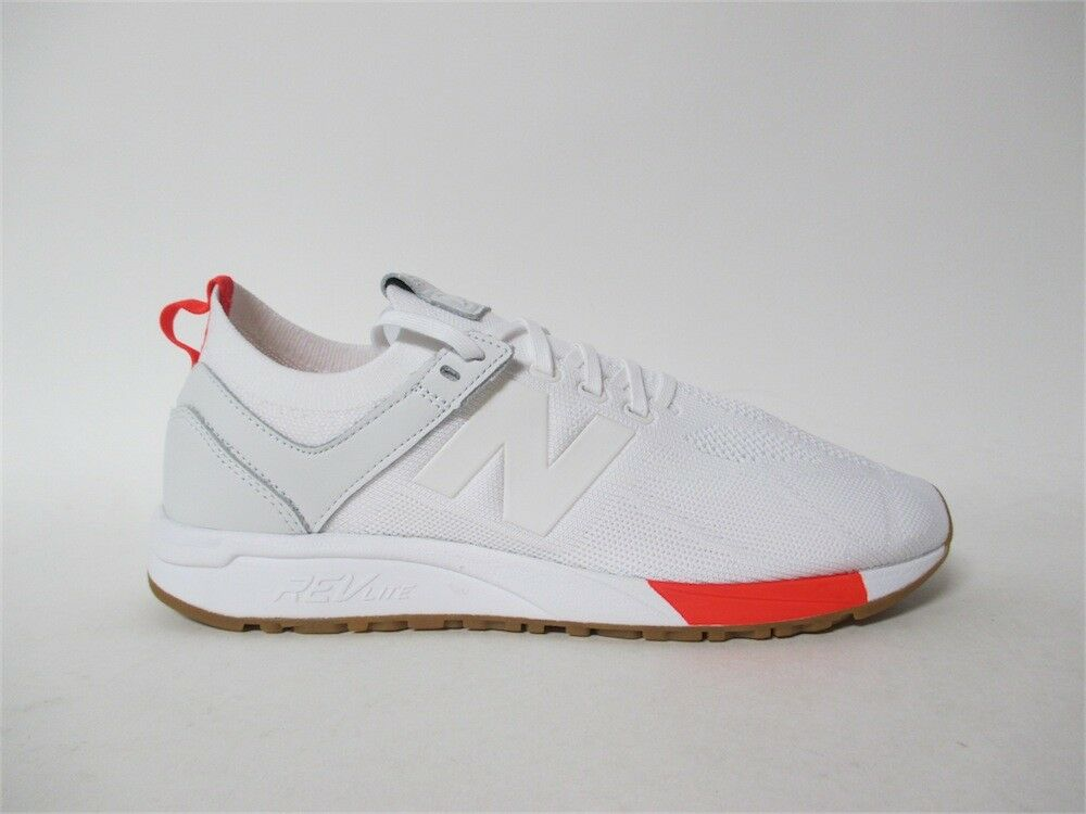 New Balance 247 White Red Red Red Gum Sz 12 MRL247DE 72f385