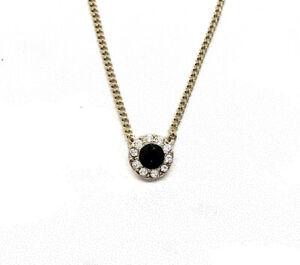 Details about Givenchy Paris Bijoux Swarovski Crystals JET Black Gemstone  Necklace 16