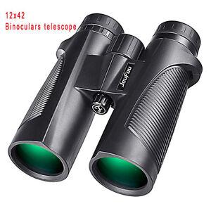 JouFou Tactical Wide-angle Optics 12X42 Hunting Binoculars Telescope
