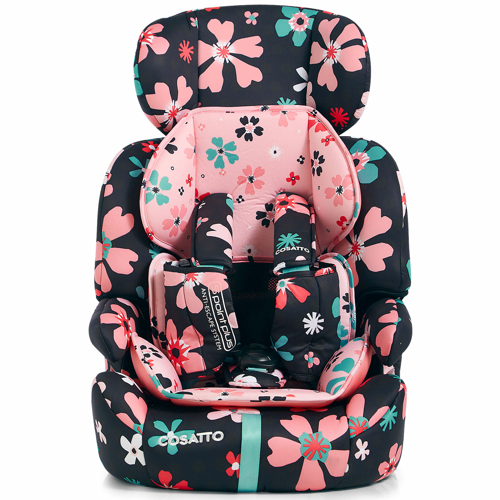 PAPER PETALS Baby Travel BN Cosatto ZOOMI GROUP 123 ANTI-ESCAPE CAR SEAT
